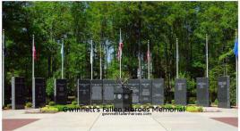 Gwinnett's Fallen Heroes Memorial
