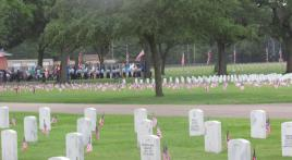 Memorial Day at Biloxi National Cemetery