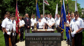 Illinois post commemorates Memorial Day