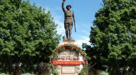 Minnesota's Doughboy statue