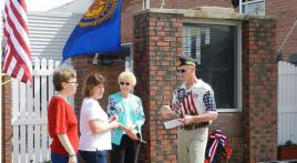 Nebraska Post 35 dedicates memorial