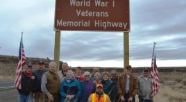 World War I Veterans Memorial Highway dedicated in Oregon
