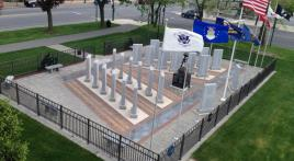 Community support makes town memorial for over 3,000 veterans possible