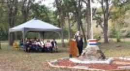 Vietnam memorial vault lowered