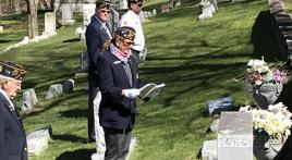 American Legion Post 28 (Grand Haven) conducts memorial ceremony for namesake Charles A. Conklin