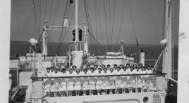 USS Tranquillity, 1943-1944