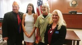 Francis Scott Key Post 11 sponsors Maryland Oratorical runner-up