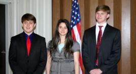 3rd District Oratorical Contest was a great day