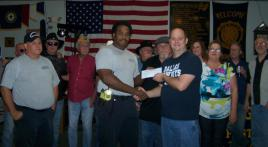 Otho Morgan Post 17 shows their support for local Fire & Rescue