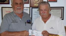 Ron Shoemaker of  Water Oaks Veterans Club