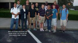 Boys State members leave for Tallahassee
