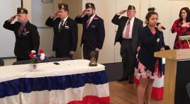 American Legion Post 180's 2018 Veterans Day ceremony