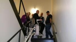 Brainerd American Legion Post 255 installs stair lift
