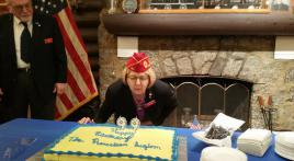 National commander celebrates Legion's 99th birthday at Nanticoke Post 6, Seaford