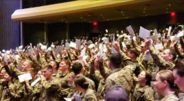 SALRADIO: 1,000 West Point cadets receive Army branch assignments
