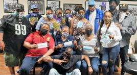 Federal Post 19 Family collects masks for homeless veterans