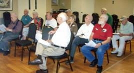 Post 230 presentation to Veterans Association