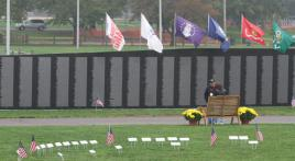 American Veterans Traveling Tribute appearing in New Jersey