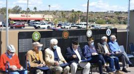Post 58 participates in WWII veteran recognition ceremony