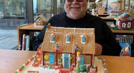 James B. Whipple Post 86 gingerbread house