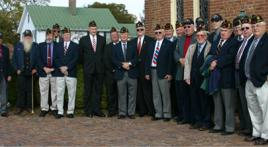 Veterans church service