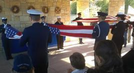 Veterans honored with final salute