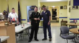 New K-9 officer installed with help from the Legion