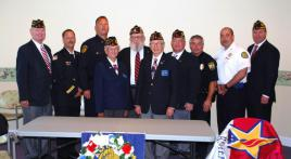 American Legion Post 110 conducts Patriot Day 9/11 remembrance ceremony