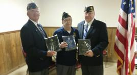 Ohio Post 572 receives Gifts for the Yanks awards