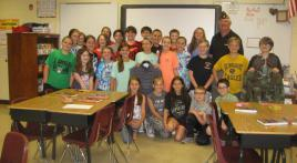 Local middle school increases writing skills through connecting with veterans