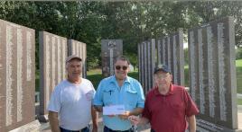 War memorials restoration completed