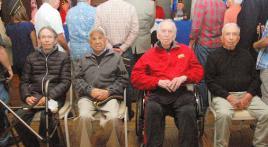 World War II veterans new inductees at Newport Harbor Post 291