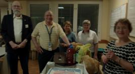 Giles Biondi Ladies Auxiliary Unit 63 celebrates Legion birthday with hospital Bingo party