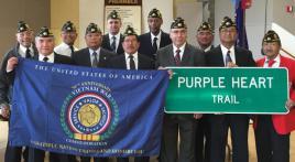 Manuel L. Quezon Post 603 installs new officers