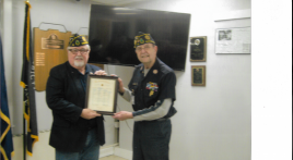 American Legion membership for 50 years