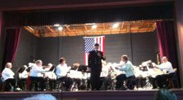 Veterans Day ceremony and band concert