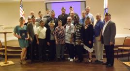 Oceanside Post 146 initiates 23 new members