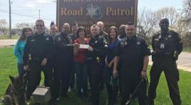 MI Legion Post 67 helps Wayne County Sheriff K-9 Unit