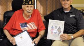 Post 240 honors Maguire for 71 years of membership