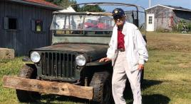 98-year old WWII vet donates 1942 Army Jeep to Post