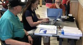 Veterans open house draws numbers