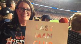 Last Man Club at World Series game 5