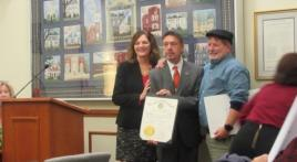 Town of Mount Airy (Md.) honors mayor for his dedicated service for community and VSOs