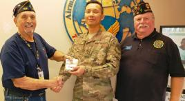 AZ Post 96 donates $500 to Luke AFB families