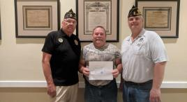 Francis Scott Key Post 11 signs first member under LEGION Act