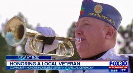 Honoring a Homeless Veteran with no known family