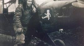 Grasshopper pilot recalls flying unarmed in front lines during World War 2