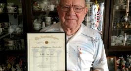 South Dakota WWII vet celebrates 70 years as Legionnaire