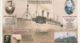 USS George Washington service, WWI and WWII
