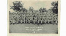 Radio man recounts service with 1060th Signal Service Company in World War II